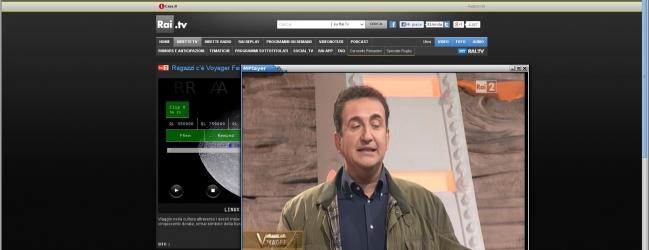 Ubuntu 12.04 - TV RAI - Firefox